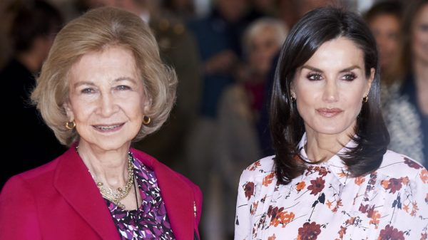 Letizia, Felipe is in solitary confinement. And she shares commitments with Queen Sofia