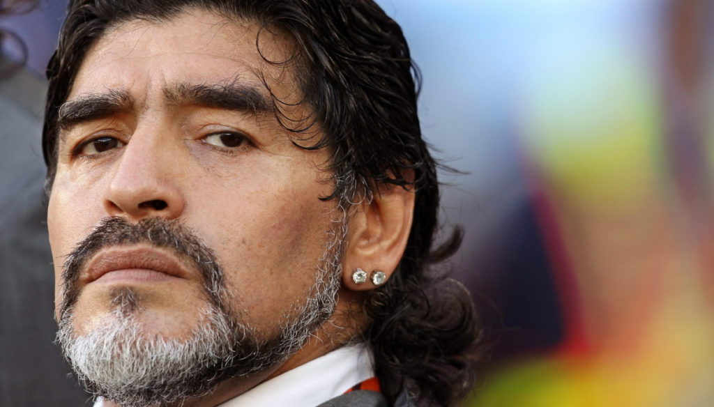 "Maradona, the touching farewell of his son Diego Jr: ""You will never die"""