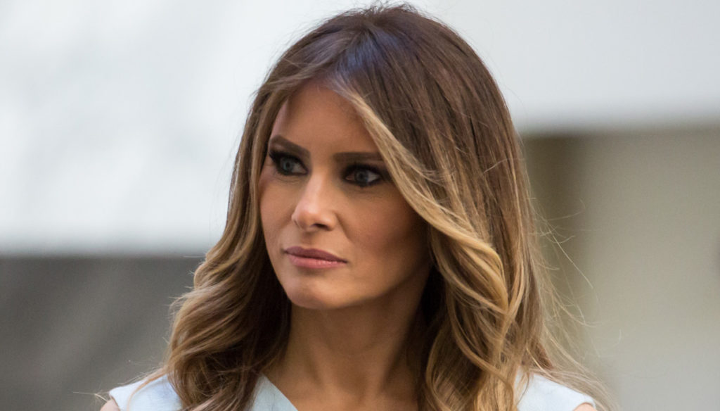 Melania Trump votes with the made in Italy dress worth over 3 thousand euros