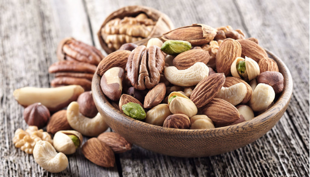 Nuts: properties and how to include them in the diet without gaining weight