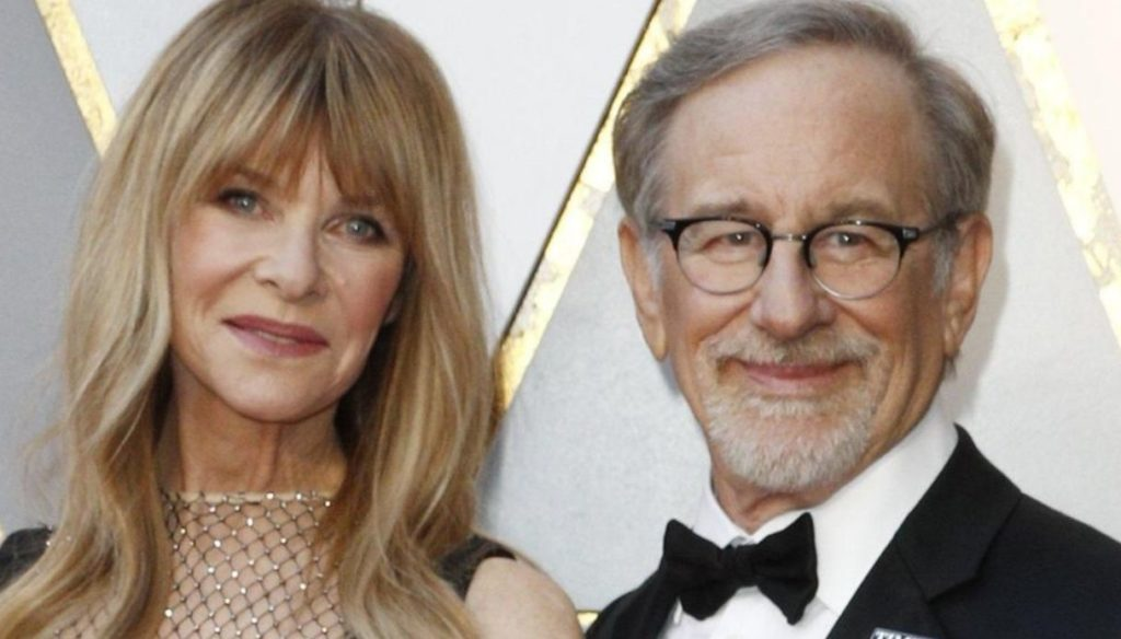 Who is Kate Capshaw, wife of Steven Spielberg and mother of Mikaela