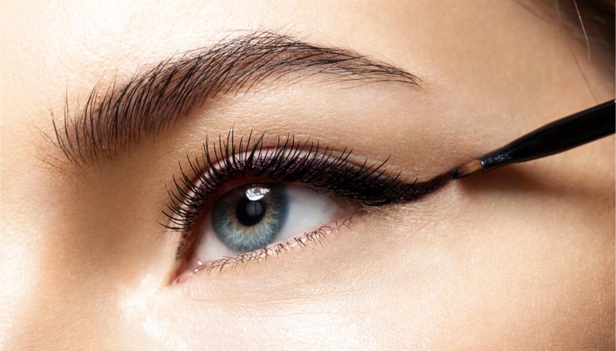 Big eye eyeliner