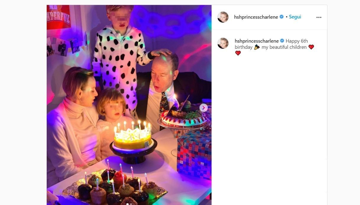 Jacques and Gabriella of Monaco on Instagram