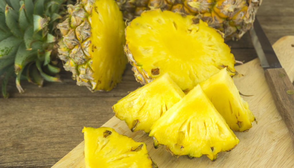 Diet with pineapple, digest better and fight inflammation