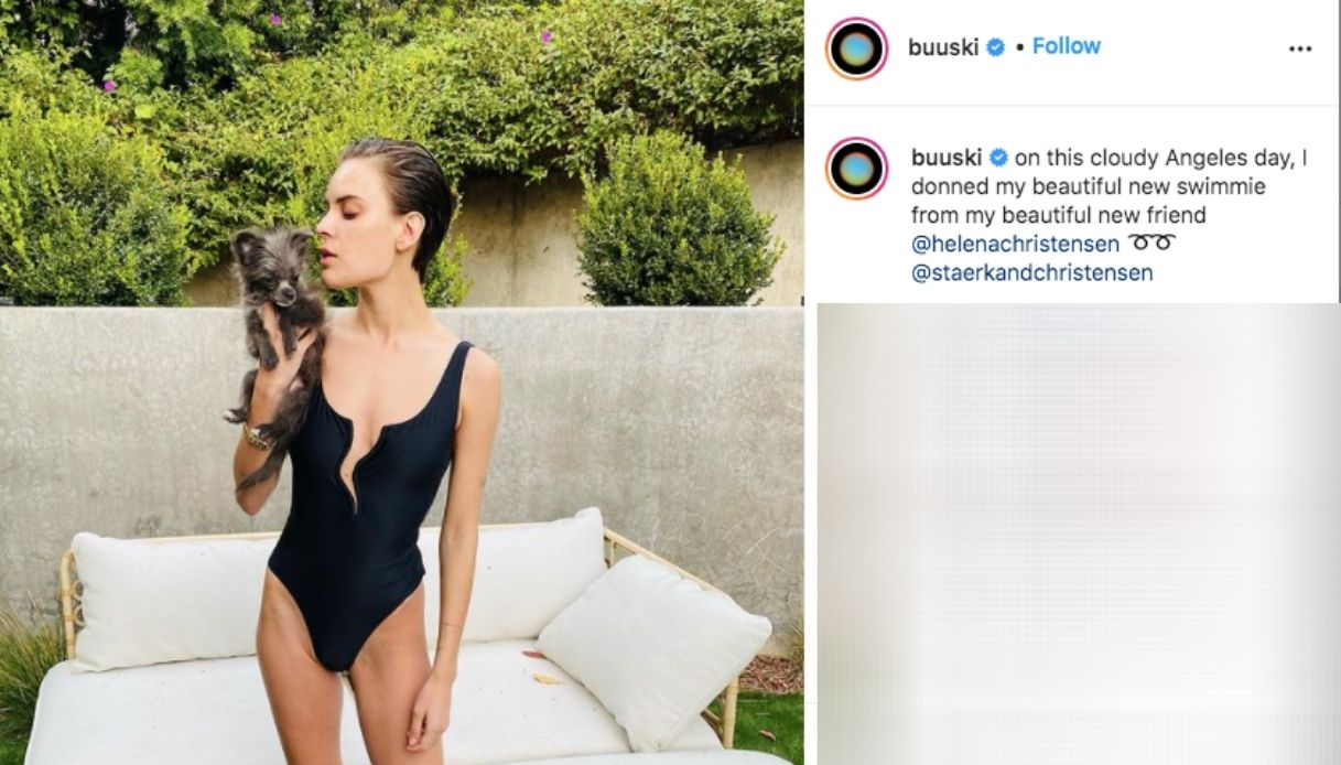 Tallulah Willis' Instagram post