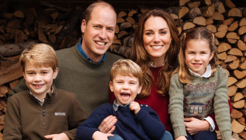 Kate Middleton, the 2020 Christmas card: Louis steals the show from everyone