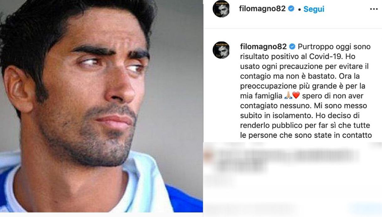 Filippo Magnini positive at Covid