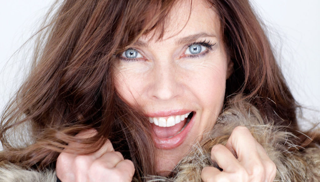 Carol Alt turns 60. And still as beautiful as in the 1980s