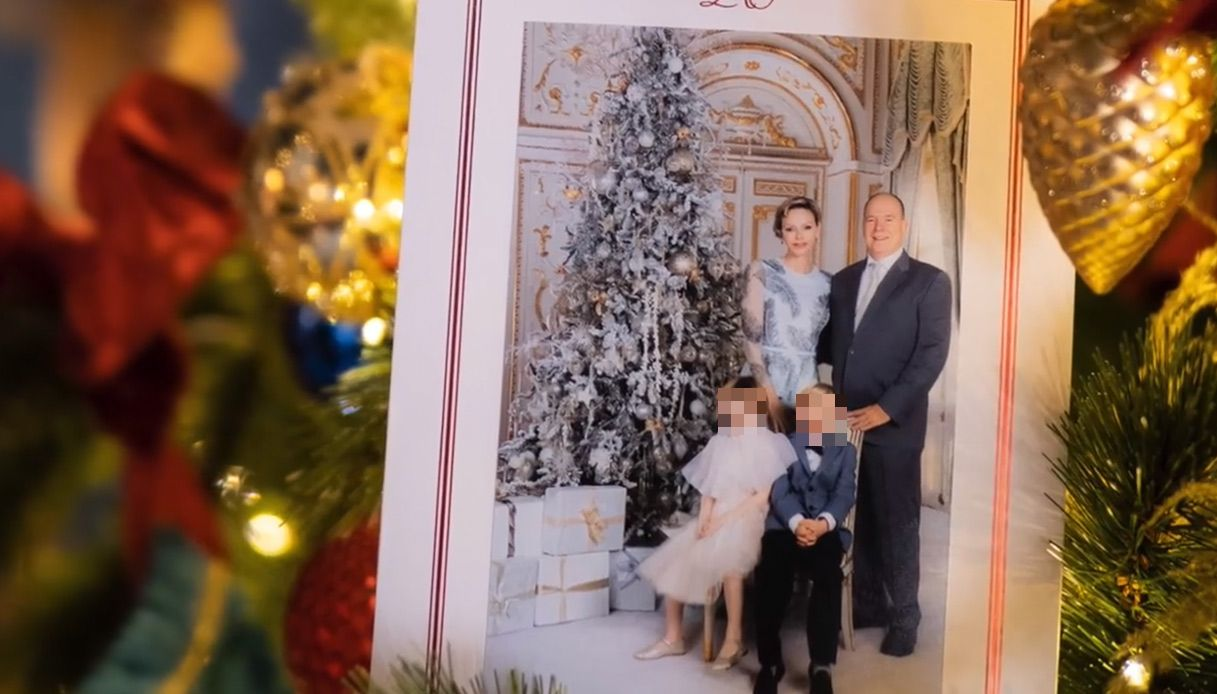 monaco royal family christmas card