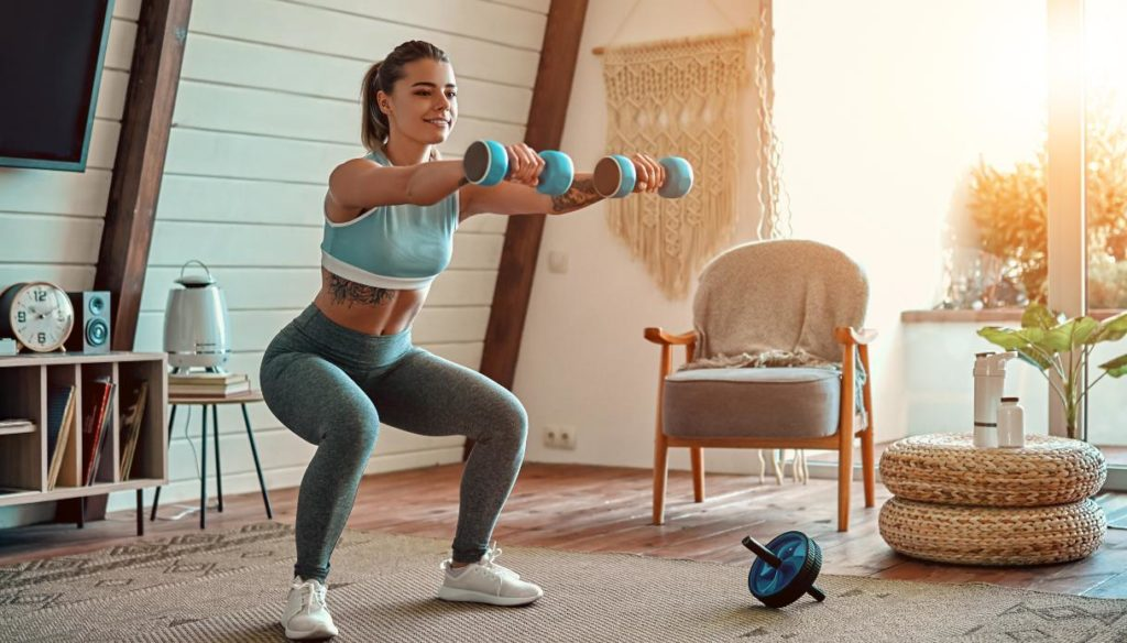 Does training at home work? Exercises and tools to create your gym