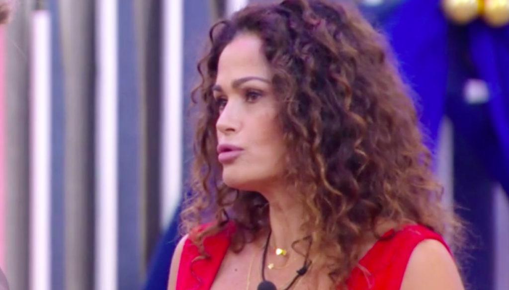 GF Vip, Samantha De Grenet attacca Maria Teresa Ruta dopo la squalifica di Filippo Nardi