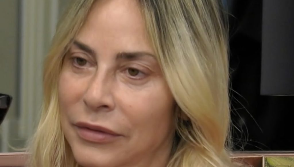 GF Vip, Stefania Orlando in tears after the clash with Dayane and Rosalinda