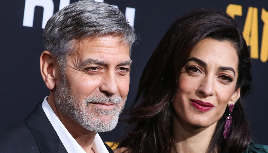 George Clooney, Amal's tender declaration and promise