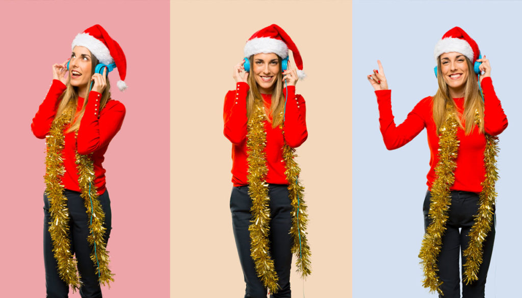 How does Christmas sound to you? Our party playlist