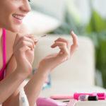 How to put on DIY semi-permanent nail polish