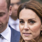 Kate Middleton and William on the Queen's train on an important mission