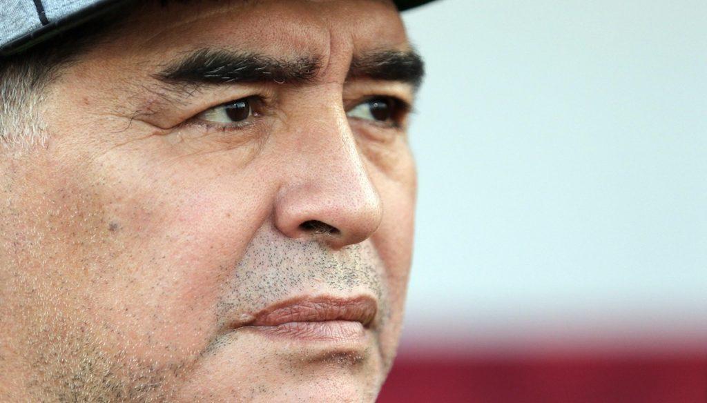Maradona legacy, son Diego Jr speaks