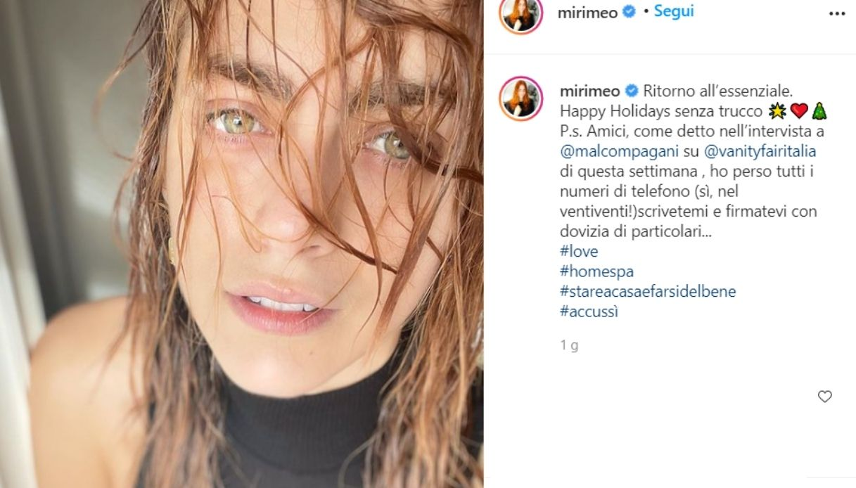 Miriam Leone without makeup