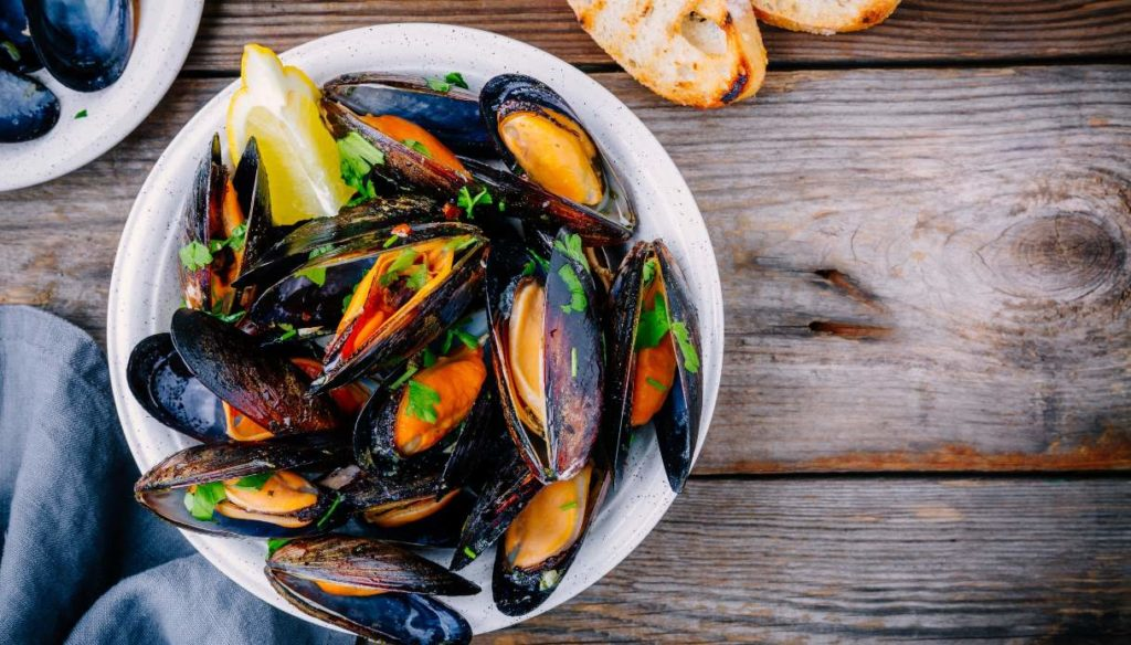 Mussels: nutritional values, properties and calories