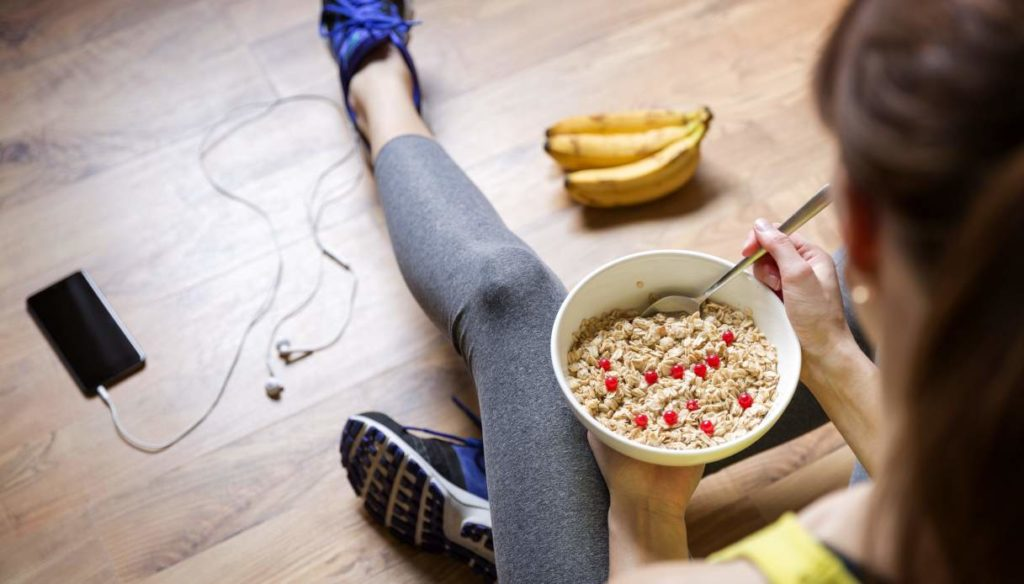 Pilates: what to eat before and after training