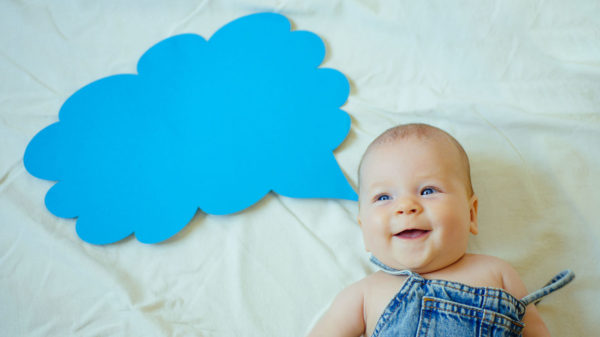 Three strategies to help your baby say his first words