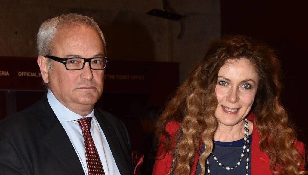 Eleonora Brigliadori e Claudio Gilbo