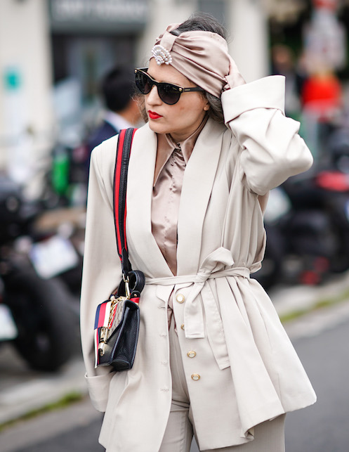 How to wear the turban: look ideas