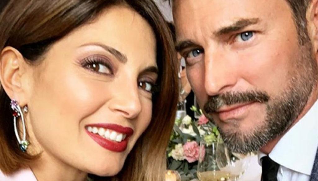 Flavio Montrucchio e Alessia Mancini