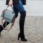 How to wear cuissardes in winter: look ideas