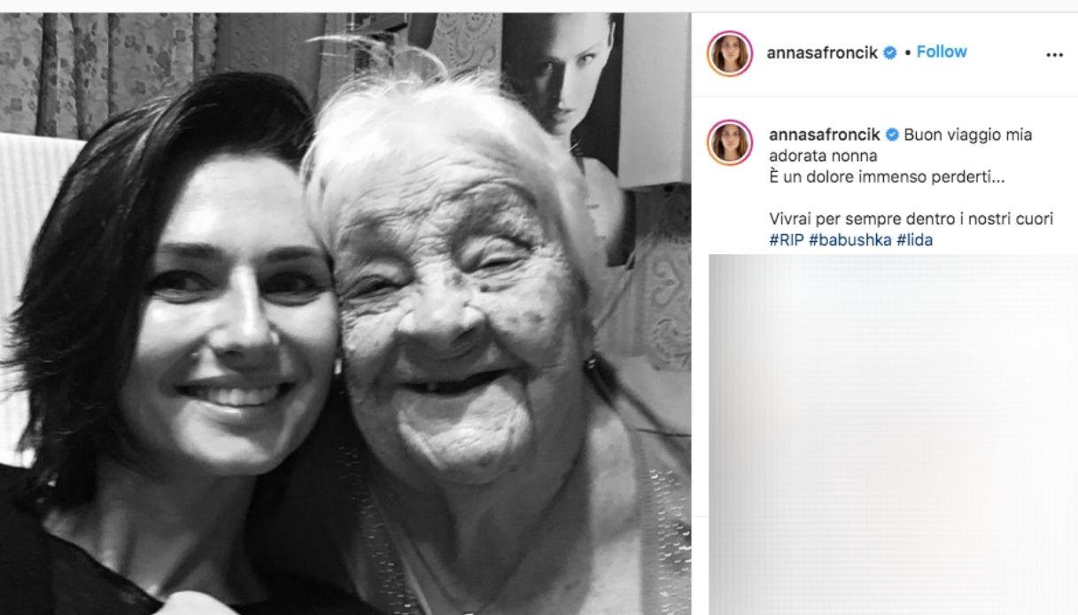 Anna Safroncik, goodbye to grandmother