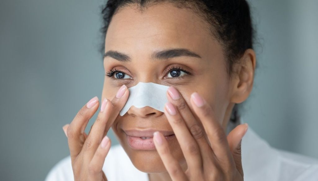 Blackhead patch to remove blackheads on the nose