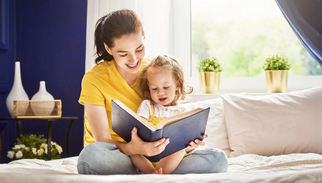 4 buoni motivi per leggere ad alta voce ai bambini!