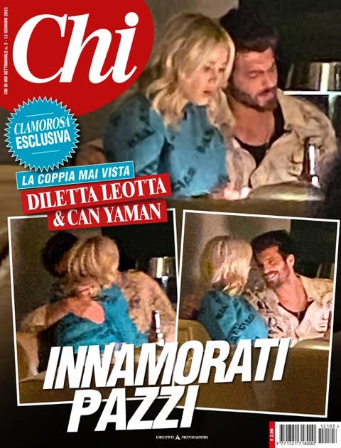Diletta Leotta and Can Yaman on Chi