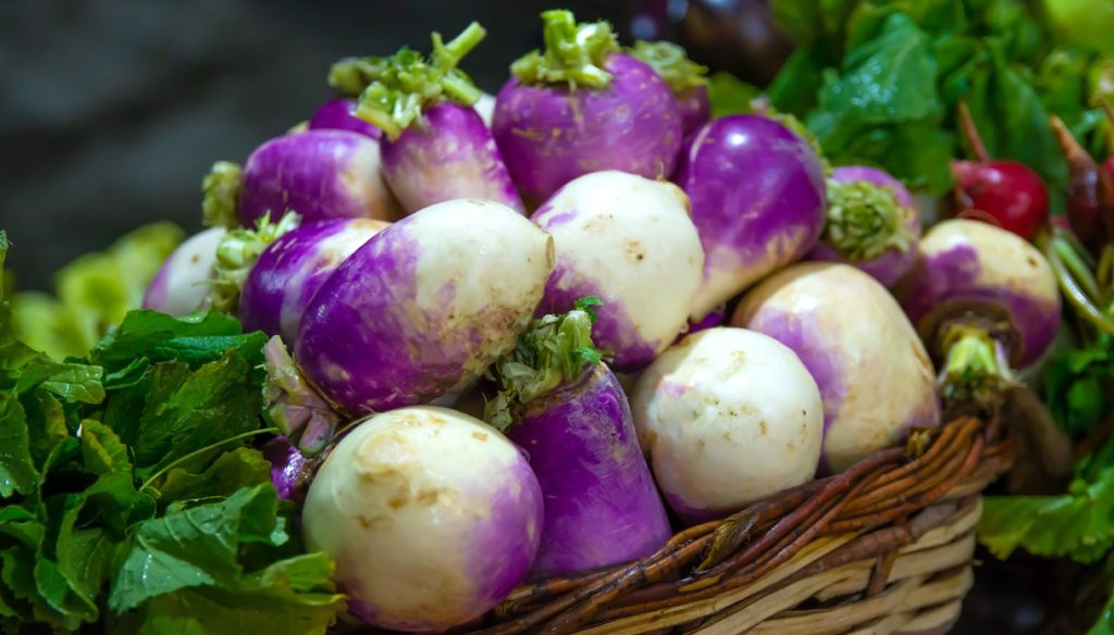 Diet with turnips, against inflammation and liver problems