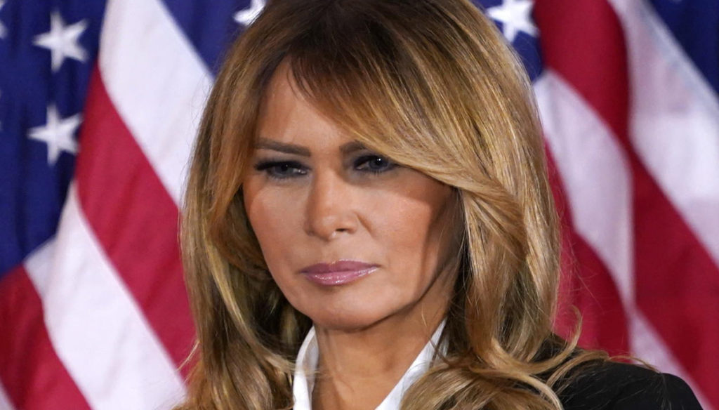 Melania Trump, the head of her staff resigns after the violent clashes. She disappears