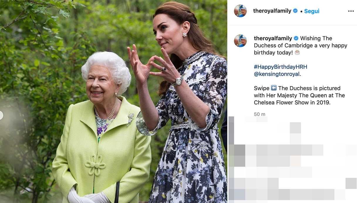 The Queen's wishes for Kate Middleton