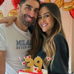 Palmas, the romantic wishes to Magnini for the first birthday from dad