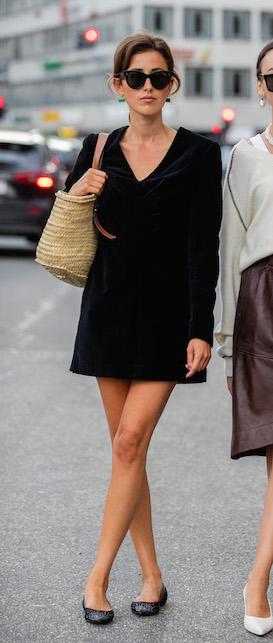 little black French dress