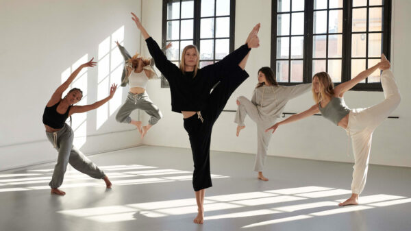 Yoga is becoming more and more fashionable!