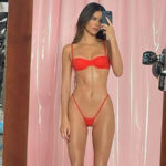 Kendall Jenner, photoshopped to look like Barbie. It is controversy