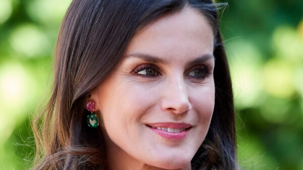 Letizia of Spain, a fairy tale in white: wears the 2014 dress and enchants