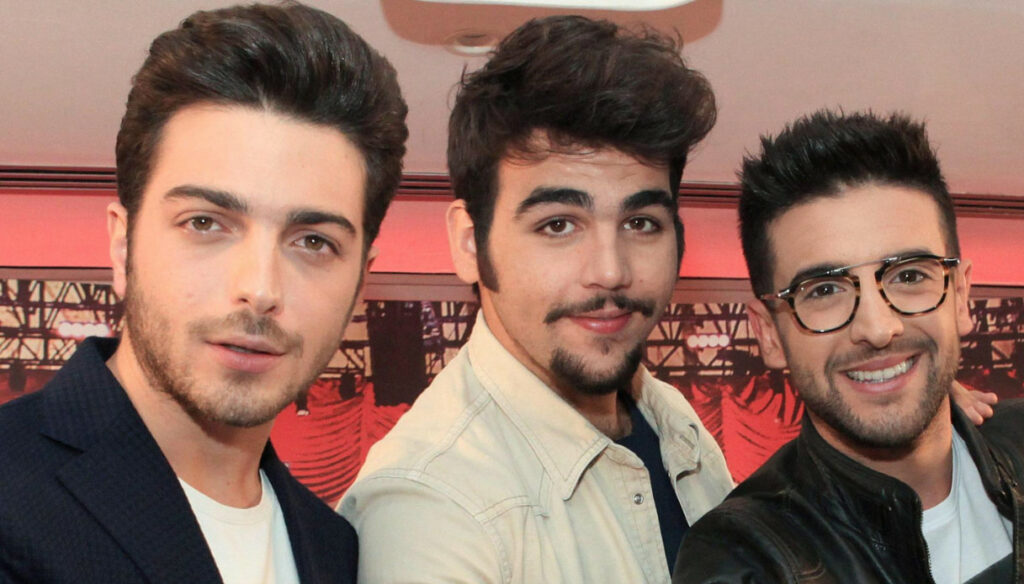 Sanremo 2021, Il Volo at the Festival for a tribute to Morricone