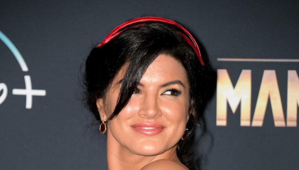 Because Gina Carano, the star hunted by The Mandalorian, is famous