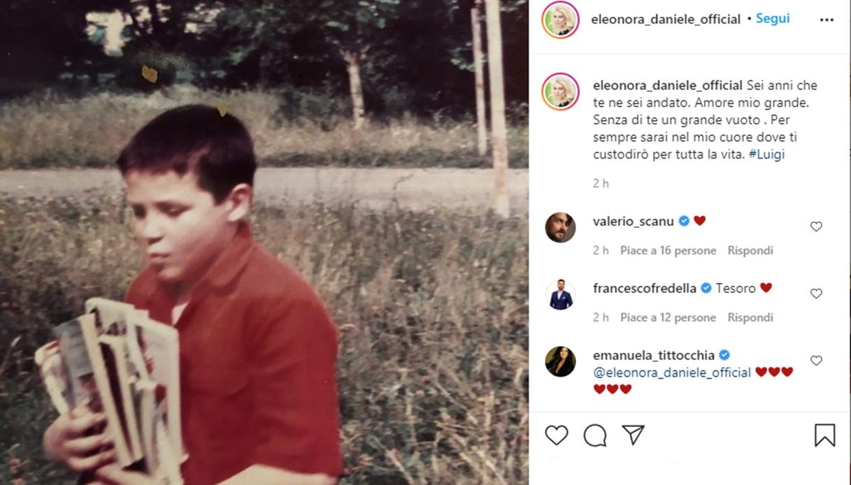 Eleonora Daniele on Instagram