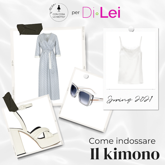 How to wear the kimono