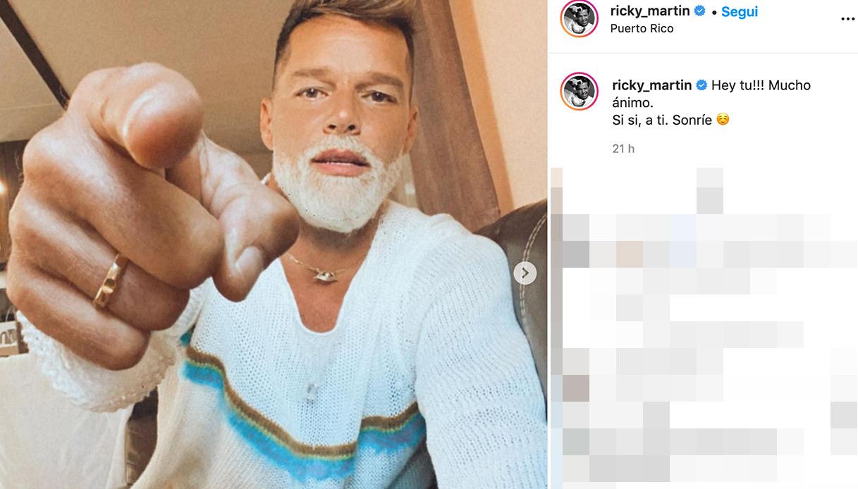 Ricky Martin surprises on Instagram ...