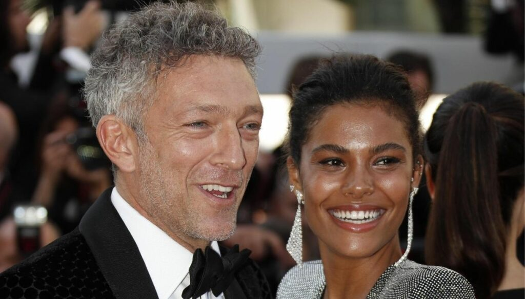 Tina Kunakey becomes a stylist: the first line signed with Vincent Cassel