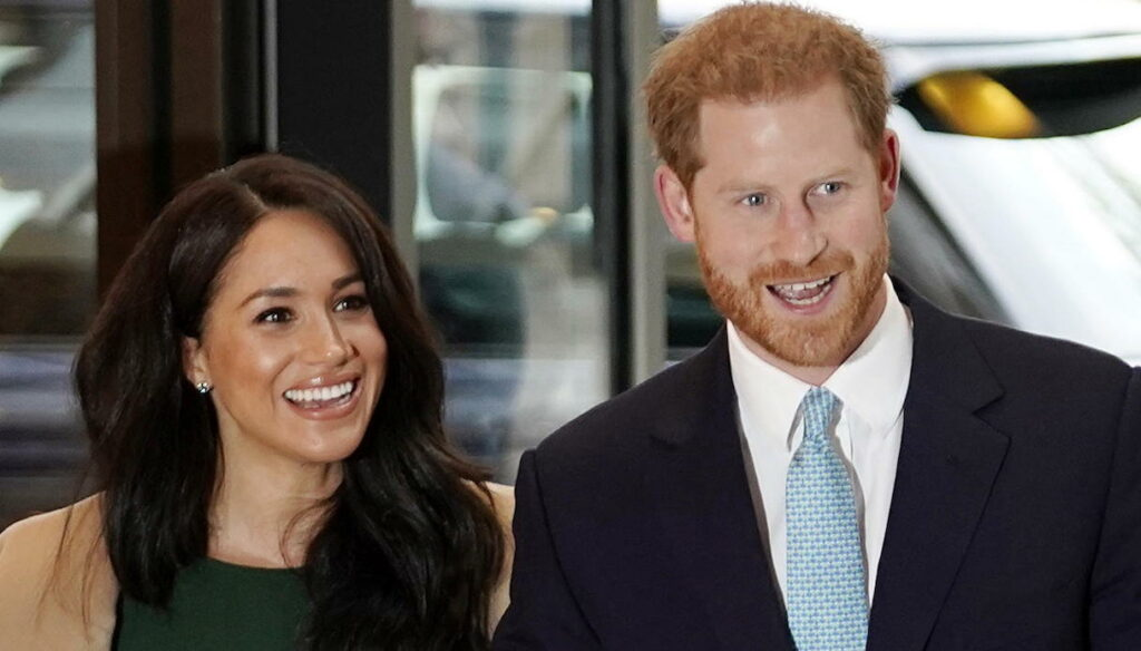 Meghan and Harry, the new family portrait is super sweet