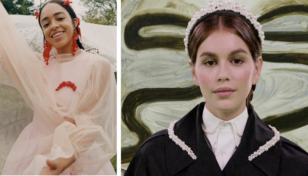 The Simone Rocha x H&M collection is online