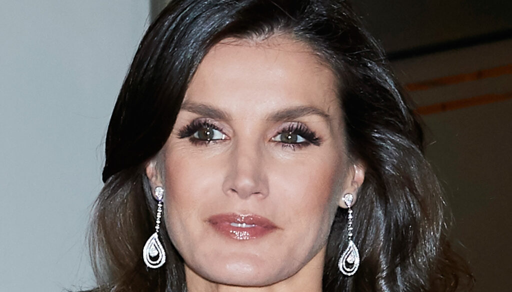 Letizia of Spain challenges the protocol with the jewel coat